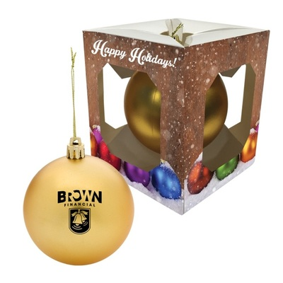 Promotional Christmas Ornaments and Custom Logo Holiday Food Gifts